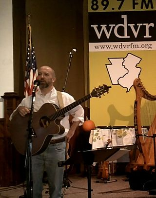 Patrick Clifford at WDVR's Napurano Cultural Arts Center